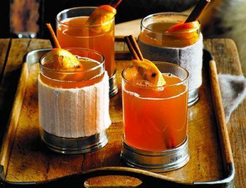 Karšti sulčių kokteiliai